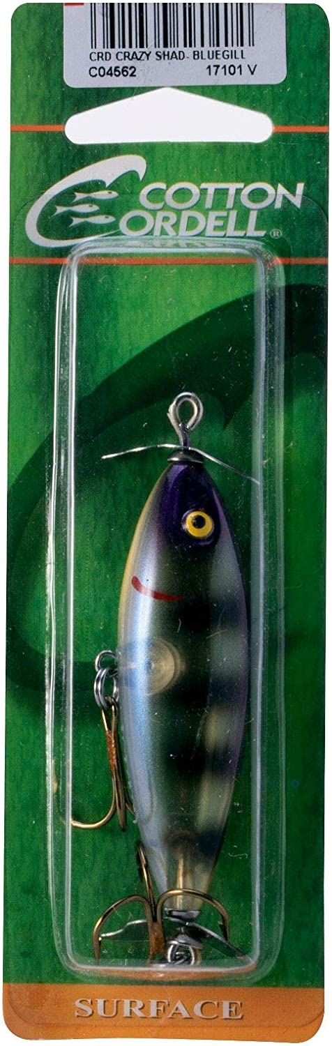 Cotton Cordell Crazy Shad C04 fishing lures original range of colors