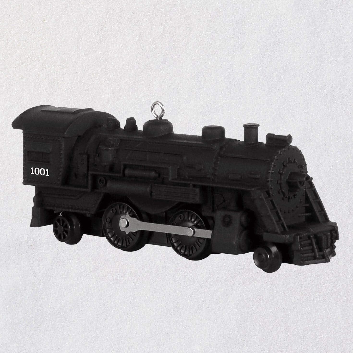 Hallmark Keepsake Christmas Ornament 2019 Year Dated Lionel Trains 1001 Scout Locomotive, Metal