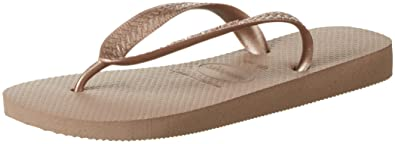 Havaianas Top metallic Damen Zehentrenner, beige (Rose Gold 3581), 39/40 EU (37/38 Brazilian)