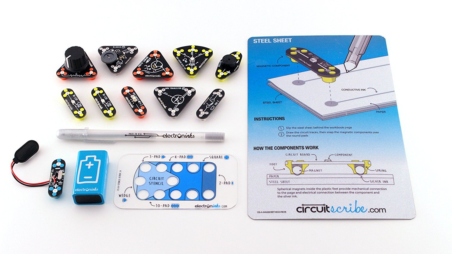 Buy Circuit Scribe Maker Kit Draw Circuits Instantly Online At Low Invention With Conductive Prices In India