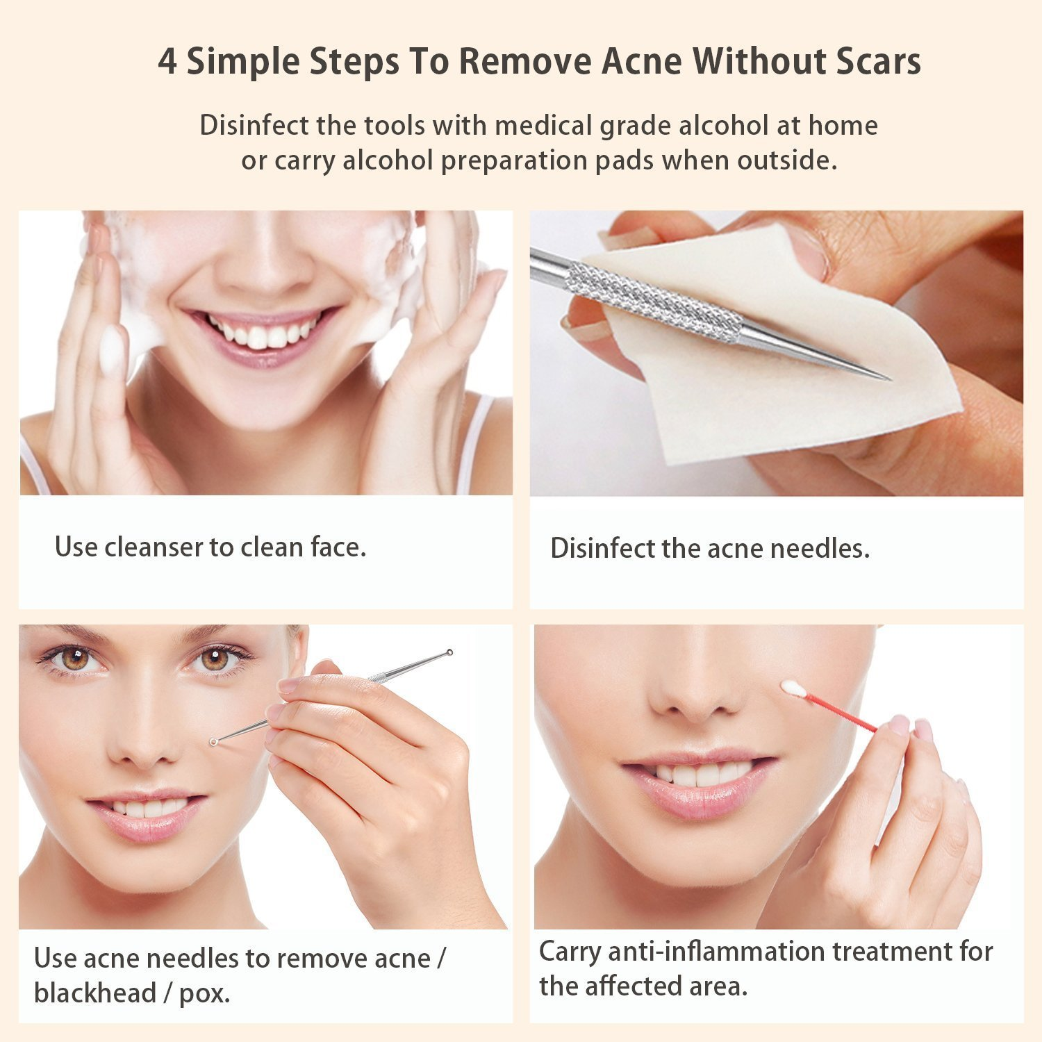 How to Use an Acne Tool