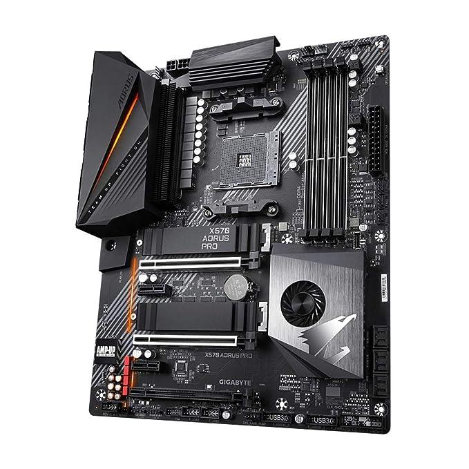 GIGABYTE X570 AORUS Pro Funda de protección Negro
