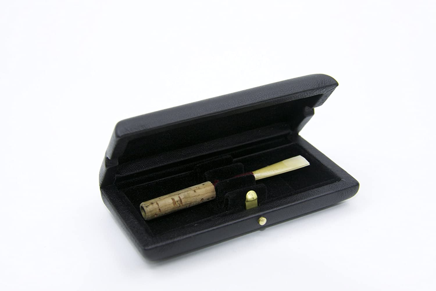 Reed123 Leather Cover Oboe Reed Case for 3 Reeds