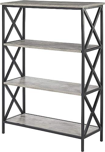Convenience Concepts , 4-Tier Bookcase, Faux Birch