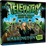 Telepathy Washington State Edition From Mighty Fun, Award-winning Strategy and Memory Board Game