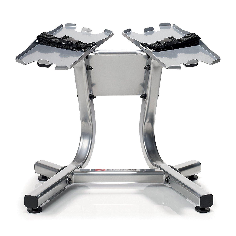 Bowflex Completo set de mancuernas 552 ajustable 5.1 banco soporte: Amazon.es: Deportes y aire libre