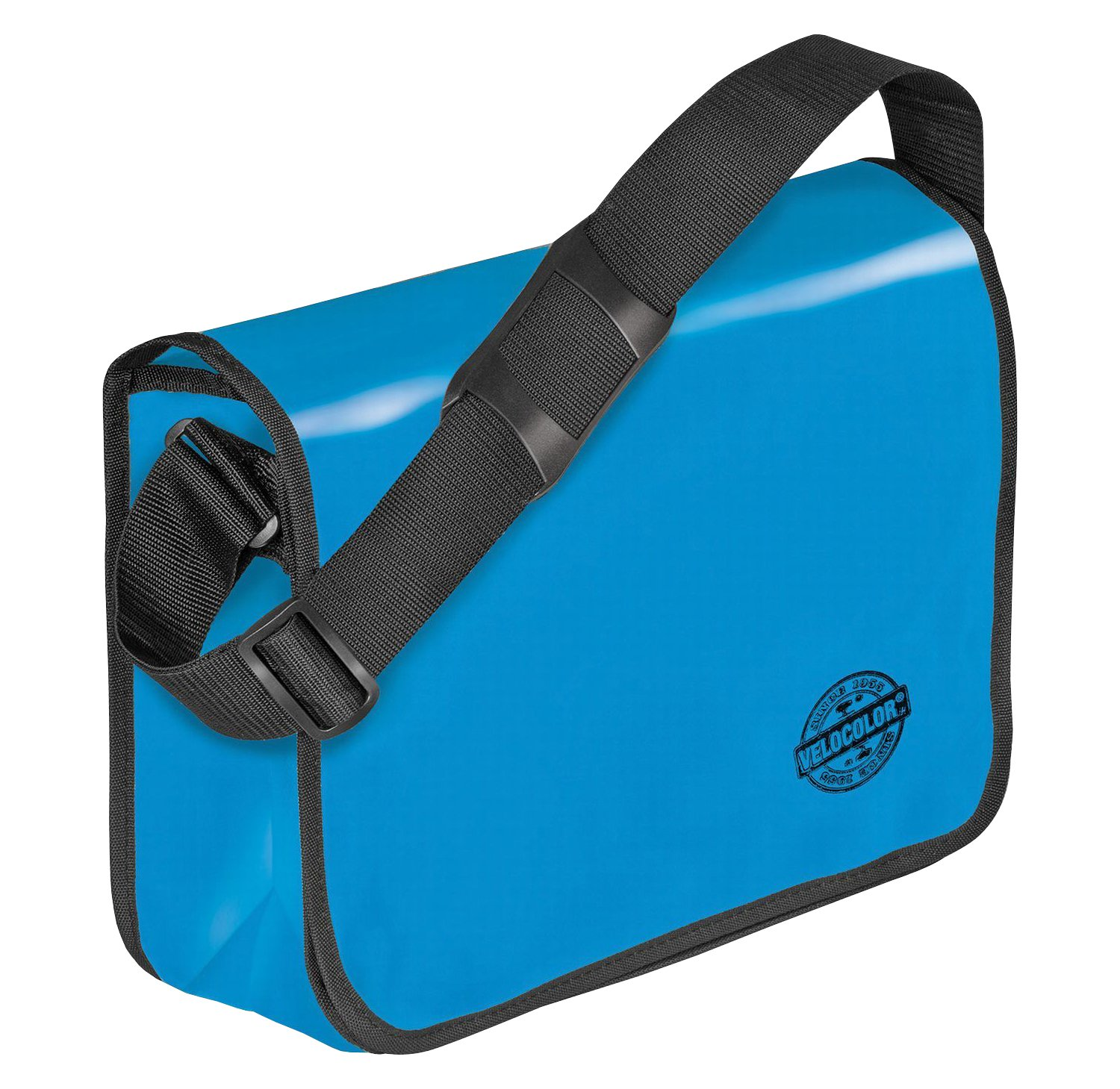 Veloflex 7000351 Shoulder Bag Velocolor Umhängetasche, Blau