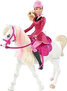 Amazon.es: Barbie - Aventura de Caballos, muñeca y