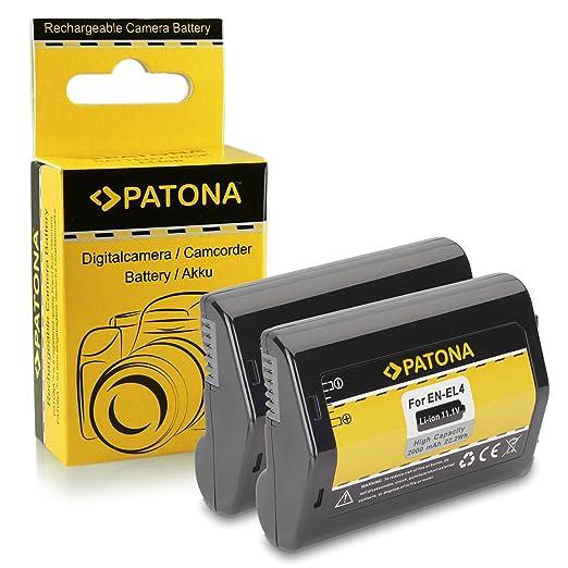 53 opinioni per 2x Batteria EN-EL4 / EN-EL4a per Nikon D2H | D2Hs | D2X | D2Xs | D3 | D3s | D3X