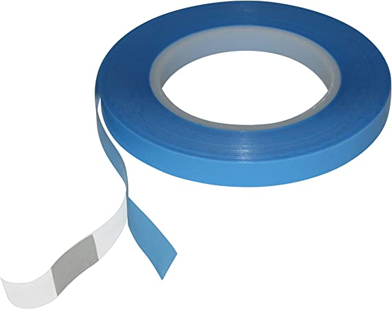 x 36 yds. JVCC UHMW-PE-3 UHMW Polyethylene Film Tape 1 in Natural//Translucent