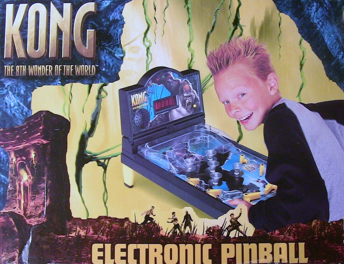 KONG The 8th Wonder of the World Electronic Tabletop Pinball Game by KONG