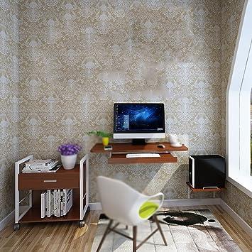 Tische MEIDUO Computer Schreibtisch Hängende Wand Passend Für Kleine Wohnung  Schwarzes, Blau,