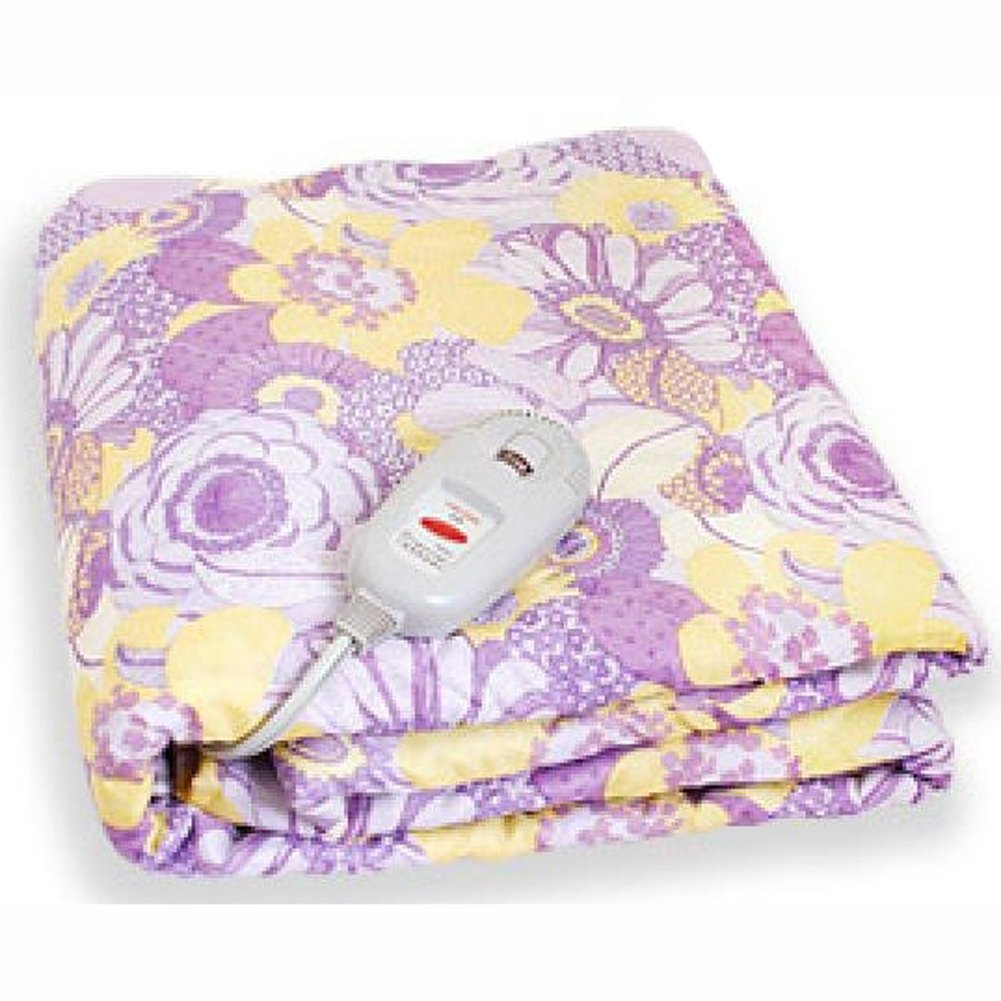 COMAX Electric Heating Mat Bed Blanket Free Voltage(110v~220v) for Oversea travel (Single)