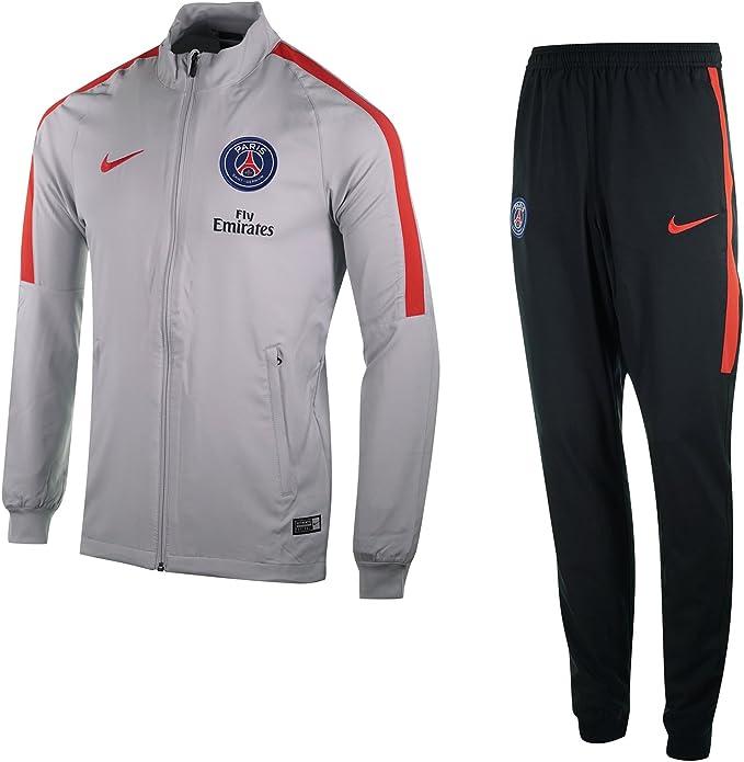Nike PSG M Nk Dry Sqd TRK Suit W Chándal París Saint-Germain FC ...