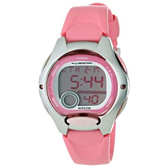 ebdf63db23f0 Image Unavailable. Image not available for. Color  Casio LW200-4B 50m Water  Resistant Digital Casual Sports Ladies Watch