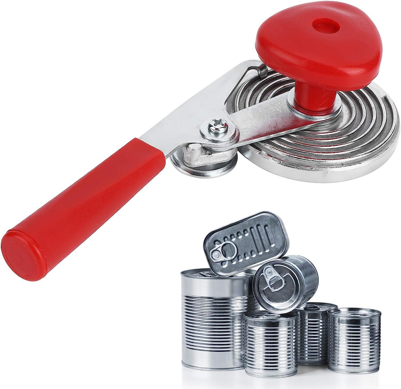barattoli di Vetro sigillante Rosso per sigillare barattoli 01 Macchina per Cucire di Alta qualit/à Resistente Argento sigillante per lattine Manuale per Piccoli Utensili da Cucina