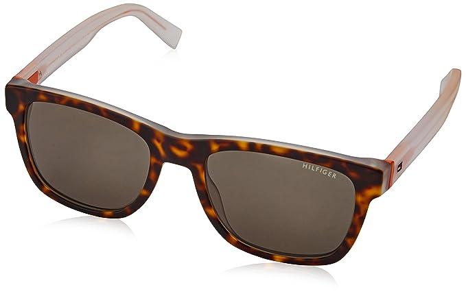 Tommy Hilfiger TH 1360/S 85 Gafas de Sol, Havana Crystal, 53 ...