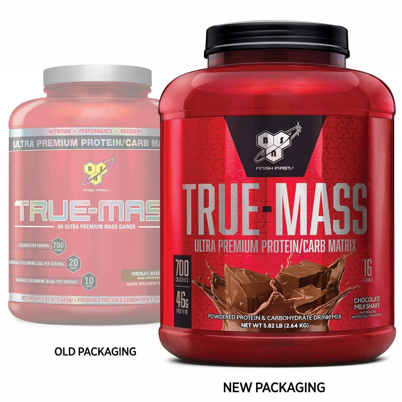 Amazon.com: Suplemento dietario True Mass BSN ...