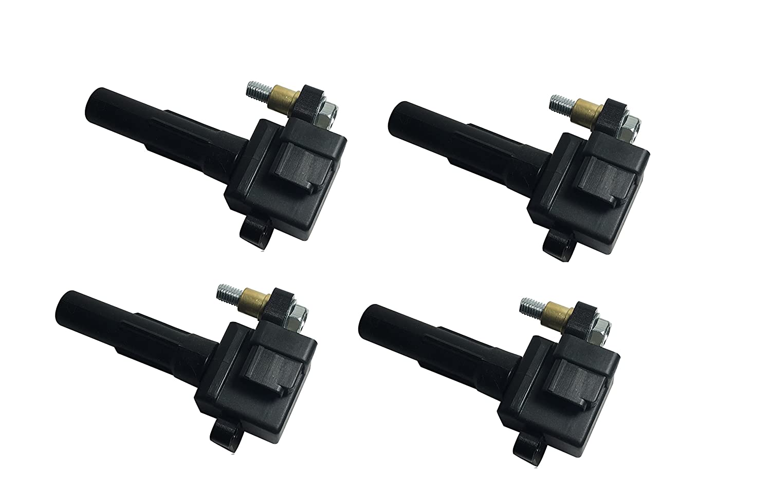 Ignition Coil Pack Set of 4 - Subaru Impreza WRX, WRX Wagon - Replaces# 22433AA421 - 2002, 2003, 2004, 2005 models Image