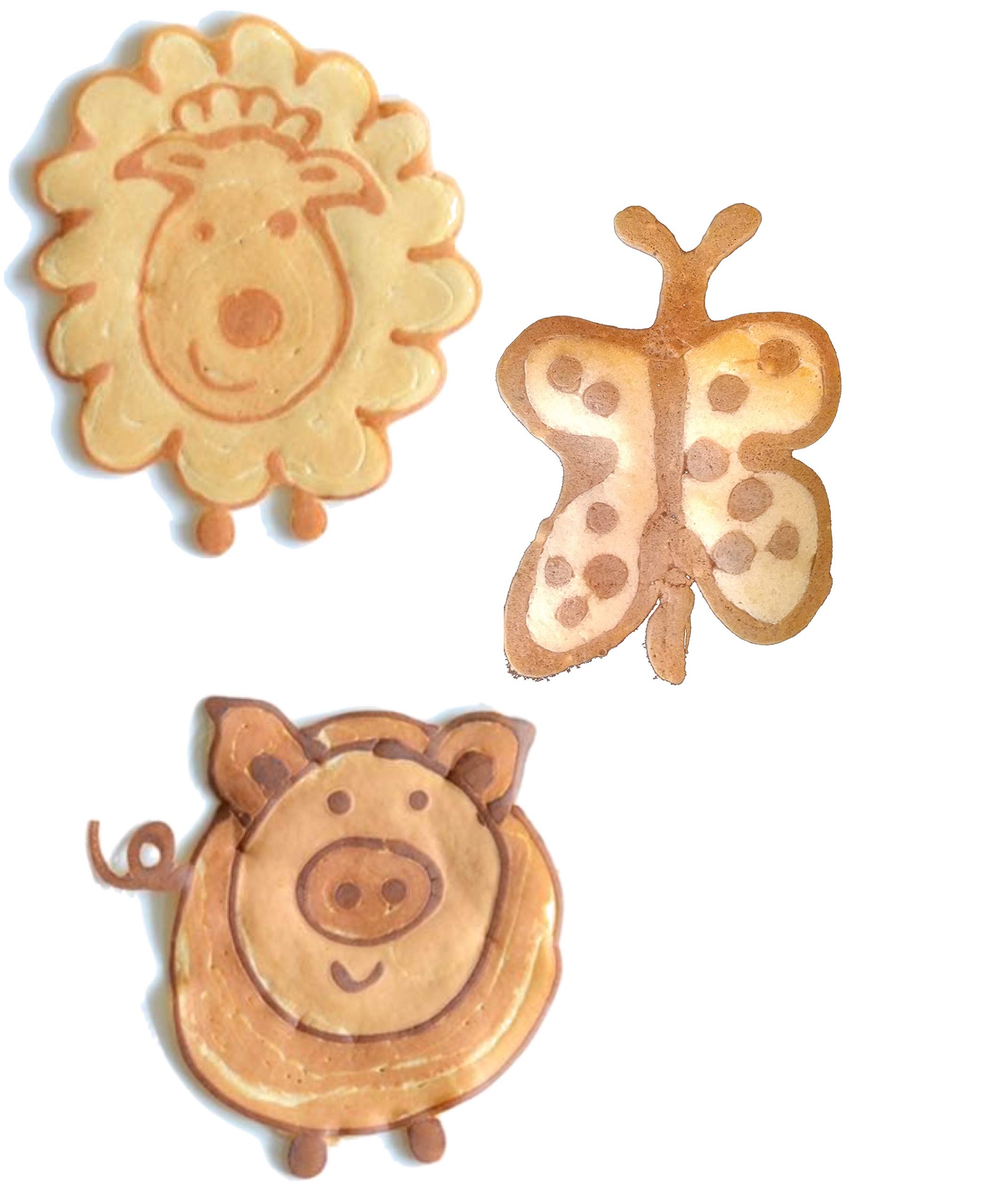Pancake Party! The Ultimate Pancake Art Making Set for Kids - SUMMER SALE! / REG $35.95 Excellent culinary educational gift for children, young bakers, chefs! baking, cooking kit for boys and girls! by Made for Me (Image #7)