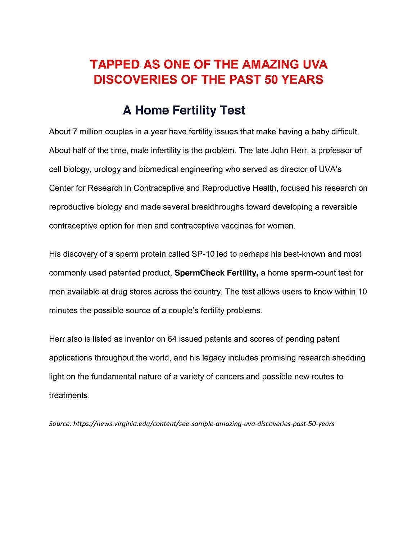 SpermCheck Fertility Home Test Kit | Convenient | FDA-Cleared