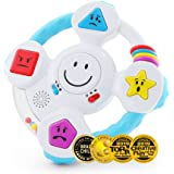 BEST LEARNING My Spin & Learn Steering Wheel - Interactive Educational Toys for 6 to 36 Months Old Infants, Babies, Toddlers