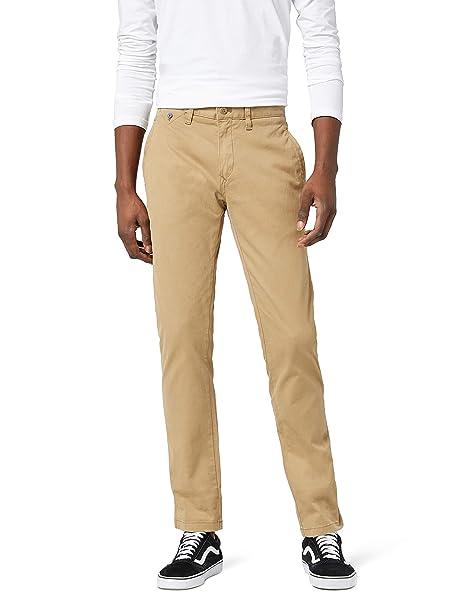 Hilfiger Denim Slim chino Ferry BSTT PD, Pantalones Para Hombre, Beige (KELP-