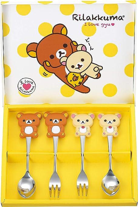 3 Forks From Japan San-X Rilakkuma Cutlery set 3 Spoons