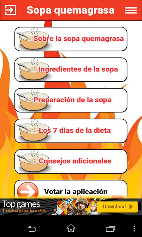 7 sopa dias quemagrasas