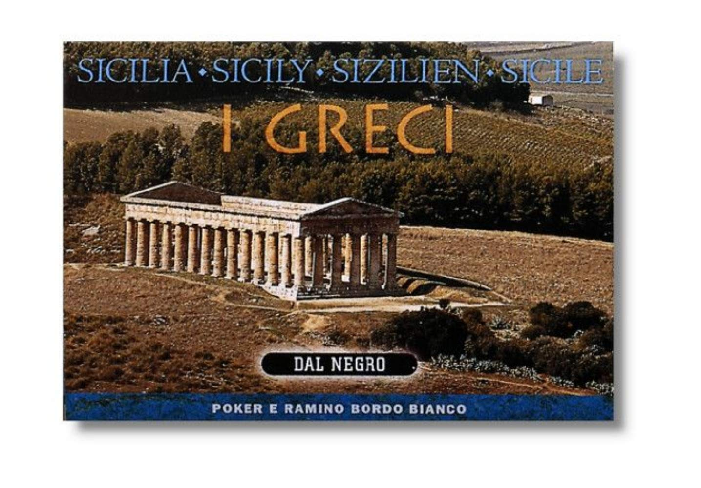 Dal Negro City of Art Sicily Greek Poker Ramino