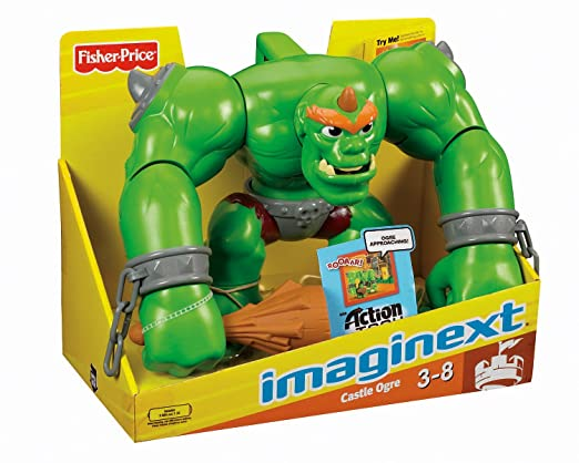 Fisher-Price Imaginext Eagle Talon Castle Ogre by Fisher ...