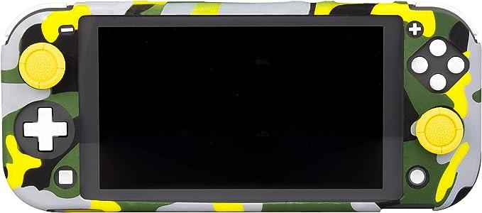 FR-TEC - Switch Lite Funda Silicona + Grips Camuflaje Thunderbolt (Nintendo Switch): Amazon.es: Videojuegos