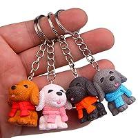 KOBWA Porte-clés, 4pcs Ange Figur Groot Baby Porte-clés, Cadeau idéal pour ami, Famille