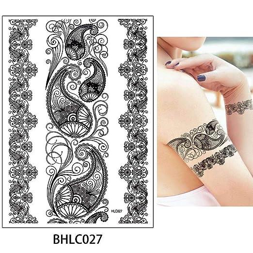 adgkitb Etiqueta engomada del Tatuaje del Arte Temporal del ...