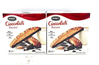 product image for Nonni's Ultimate Chocolate Chunk BIscotti 175g, 2 Pack