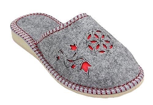 TupTam - Zapatillas de Estar por casa de Fieltro para Mujer: Amazon.es: Zapatos y complementos