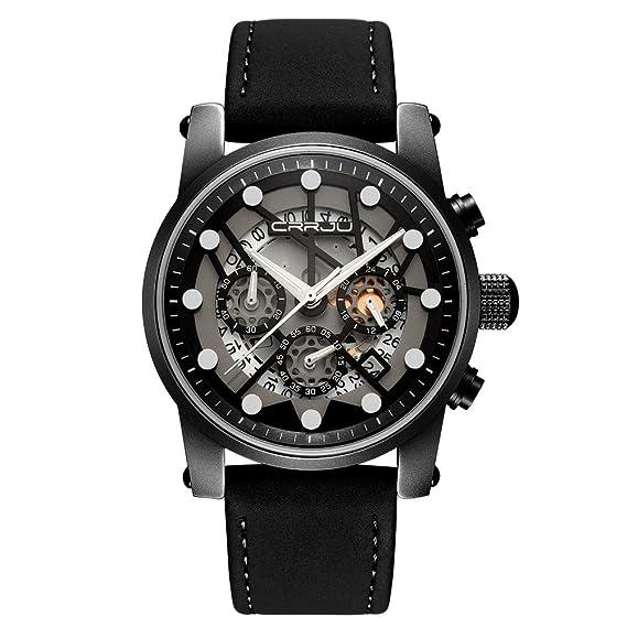 Jiameng Reloj de Pulsera, Reloj clásico Relojes Deportivos de Hombre y de Viaje multifunción Reloj