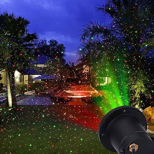 New Star Außen Laser Weihnachtslicht Mit Fernbedienung Projektion