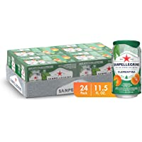 Sanpellegrino Italian Sparkling Drink, Clementine, 11.15 fl oz. Cans (Pack of 24)