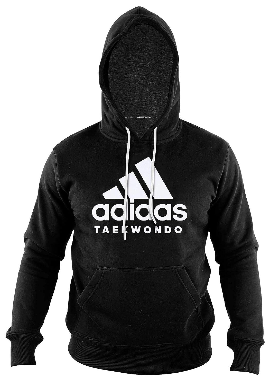 Adidas Community line Hoody Taekwondo Performance schwarz Weiß, ADICHTKD B07HLNH9FG Sweatshirts & Kapuzenpullover Obermaterial