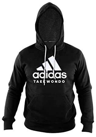 adidas Community line Hoody Taekwondo Performance BlackWhite, ADICHTKD