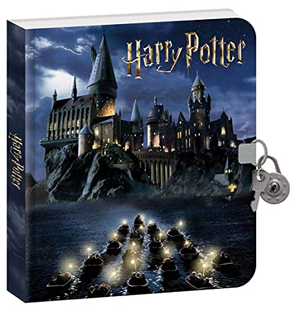 Playhouse Harry Potter Hogwarts Lock and Key Lined Page Diary with Invisible Ink Pen for Kids