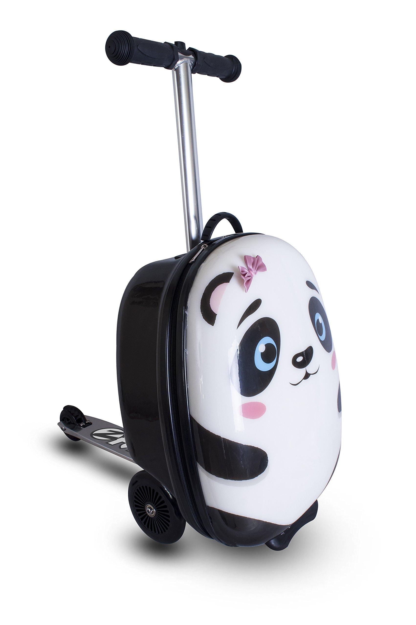 ZincFlyte Kid's Luggage Scooter 18'' - Polly the Panda by ZincFlyte (Image #1)