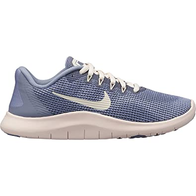 0c48fd801d Nike Girl s Flex RN 2018 Running Shoe Ashen Slate Guava Ice Diffused Blue  Size. Roll over image to zoom in