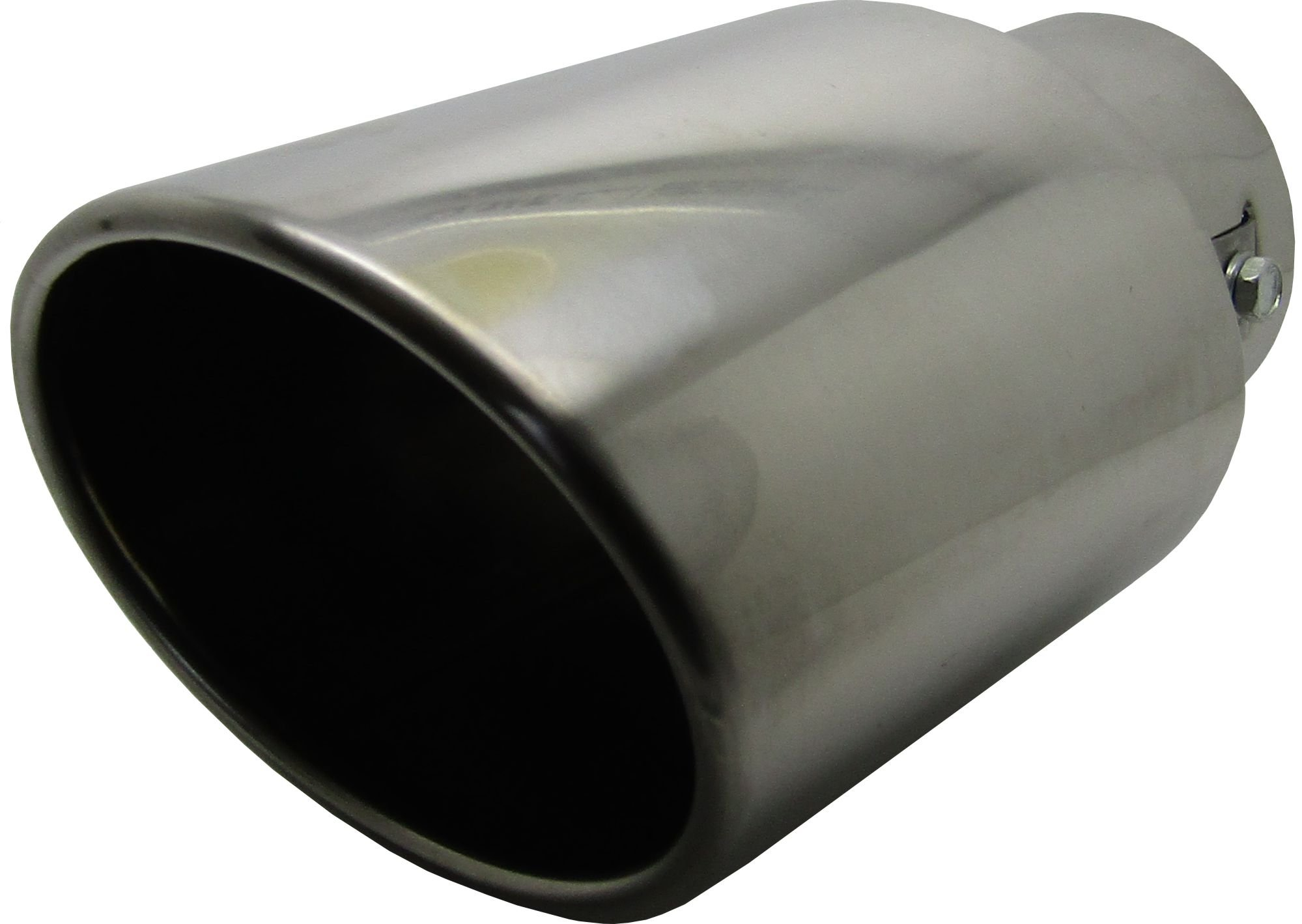 Boloromo 560047997 Universal Car Twin Double Exhaust End Pipes Muffler Tail Tips Trim Chrome