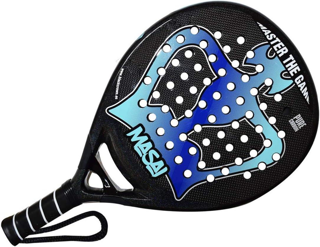 Amazon.com : BLACK CROWN Masai - (Padel - Pop Tennis ...