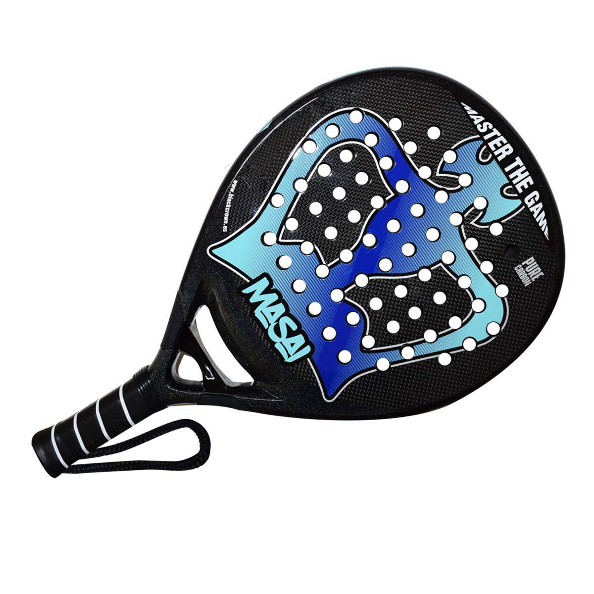Amazon.com: Black Crown Masai - Pala de pádel para tenis de ...
