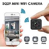 Mini cámara WiFi Cámara espía Inalámbrica Oculta WiFi Seguridad para el hogar Cámara de niñera Grabadora de Video para…