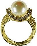 Broche Perle doré