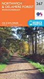 OS Explorer Map (267) Northwich and Delamere Forest
